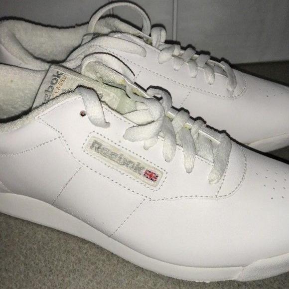 Reebok Classic Walking Shoe Princess 1475 White Sneaker